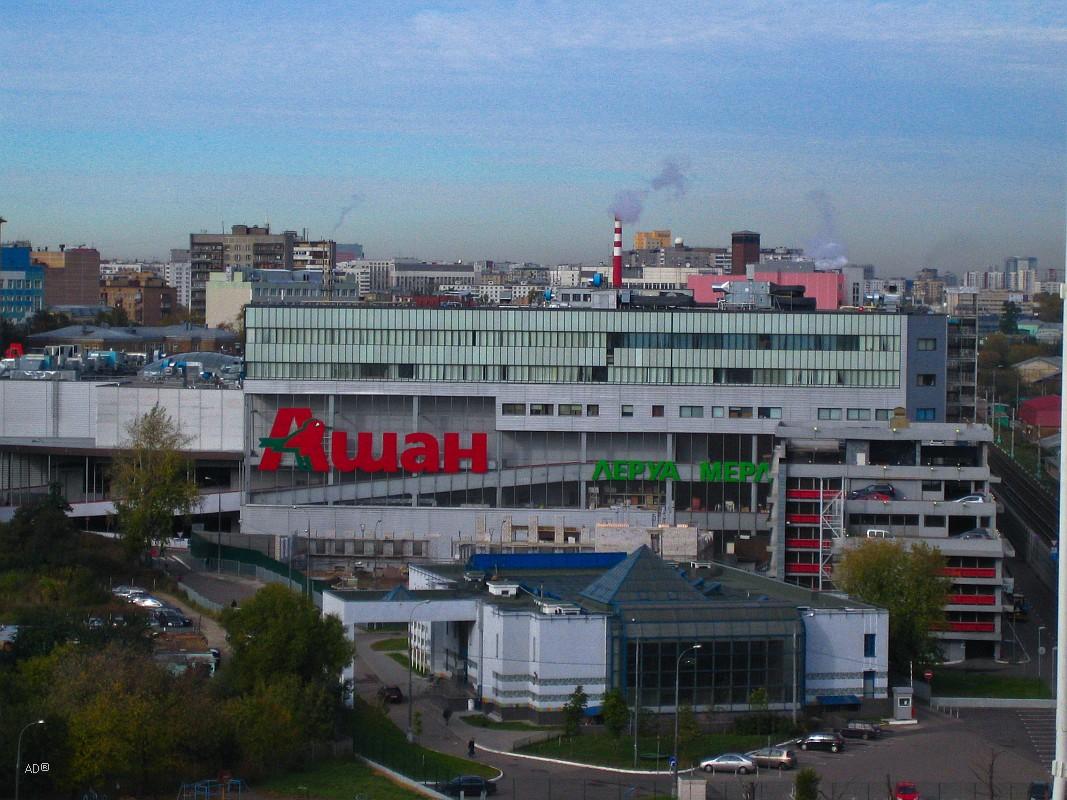 Торговый центр «Тройка»: «Ашан-Сокольники», «Леруа Мерлен», «Декатлон»