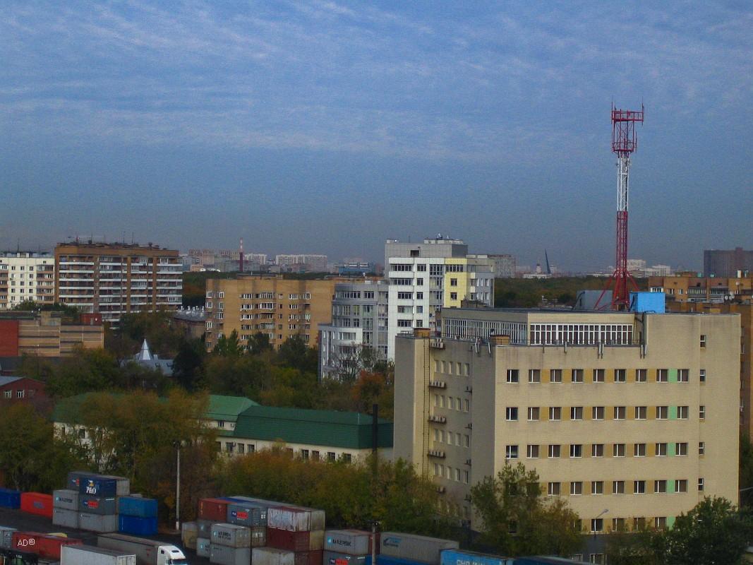 Москва - осень (с Русаковской)