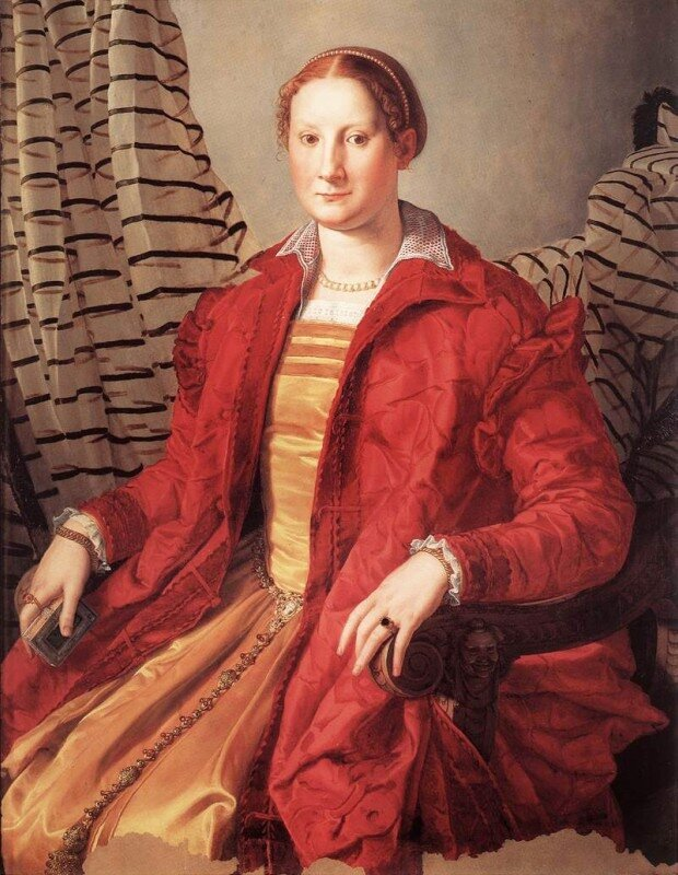 Бронзино. Женский портрет