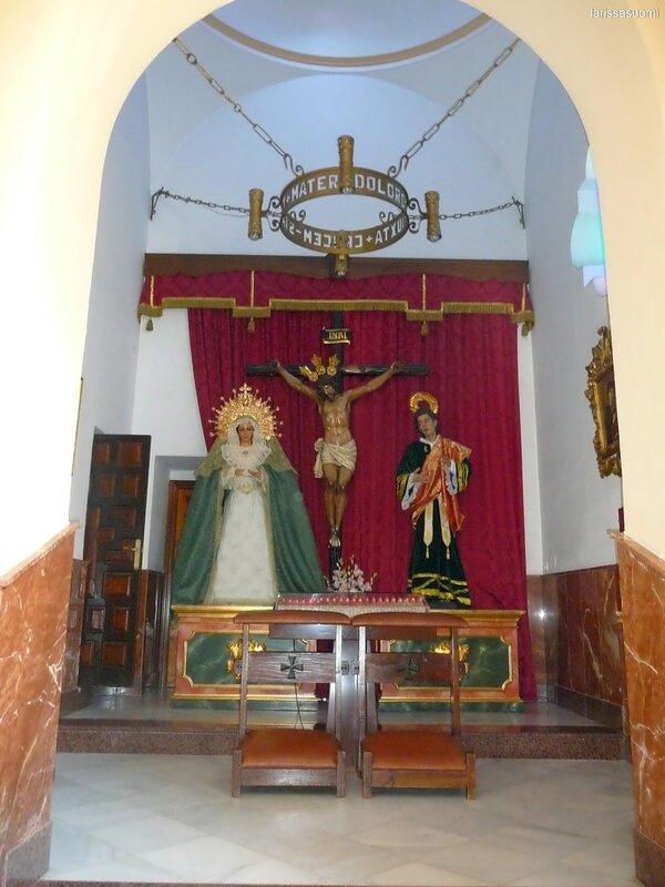 Испания. Фуэнхирола. Церковь Nuestra Senora del Rosario.