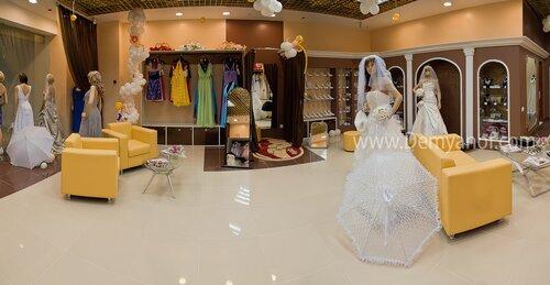 Свадебный салон панорама, помещение, Чебоксары, интерьерная съёмка