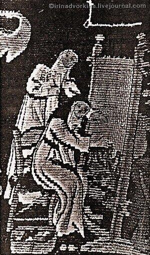 """Фрагмент шпалеры """"Страсти Христовы"""". XVI в. Кафедральный собор г. Бамберга, Германия"""
