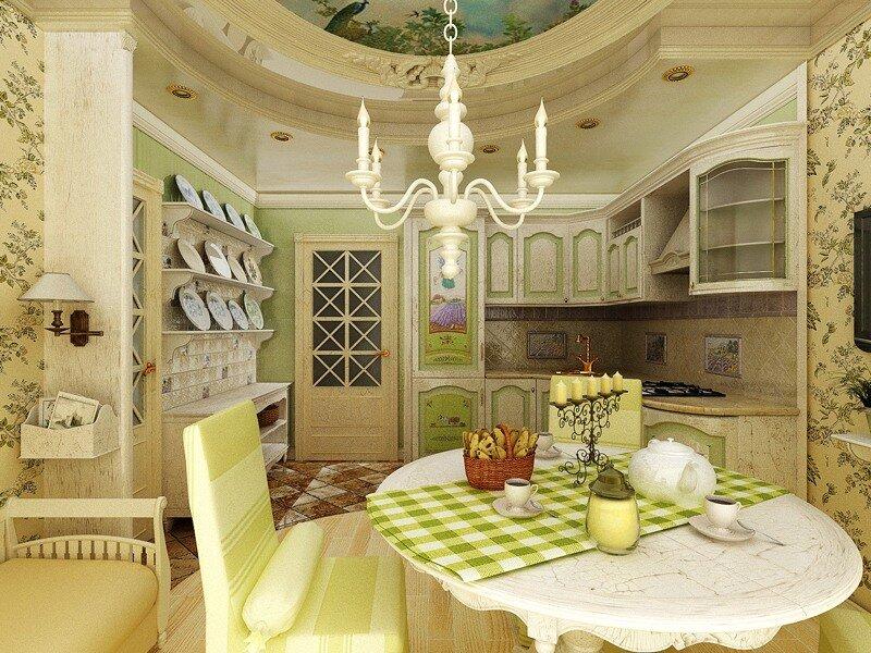 Кухня прованс фото дизайн 6