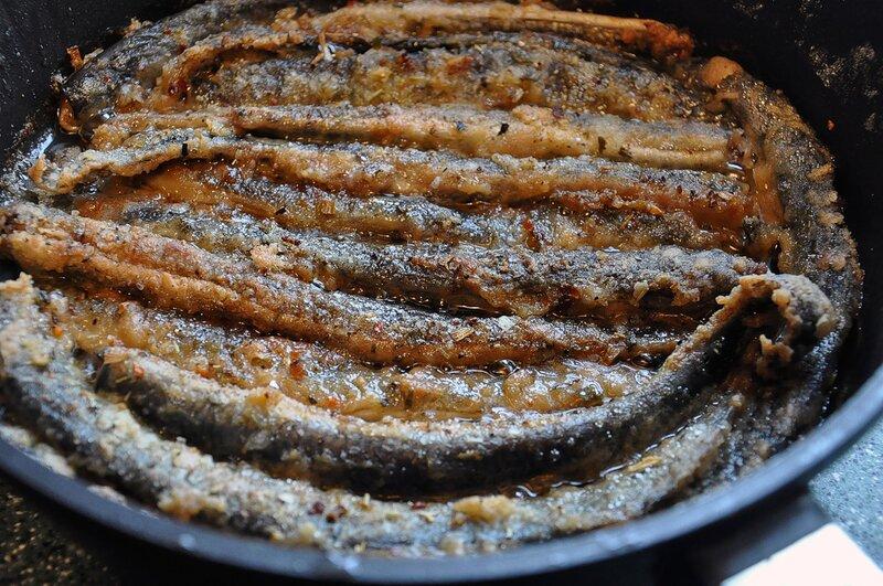 Жареные миноги рецепт приготовления