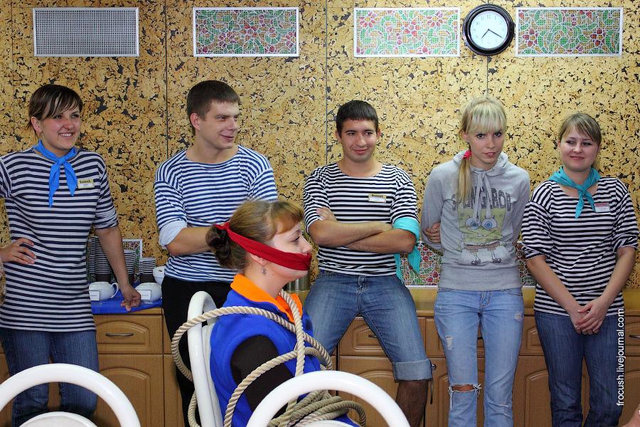 «Пиратский» ужин на теплоходе «Сергей Кучкин»
