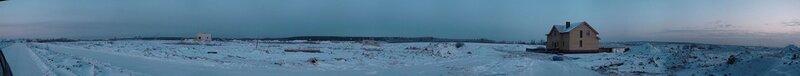 Панорама северной части поселка Новорижский