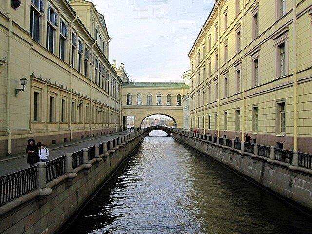 Россия, Санкт-Петербург, Зимняя канавка