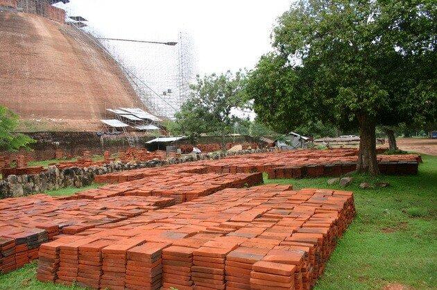 Анурадхапура. Ступа Джетаванарама