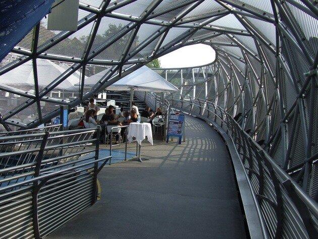 Murinsel – мост в Граце