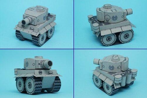 Моделька тигра - оригинал