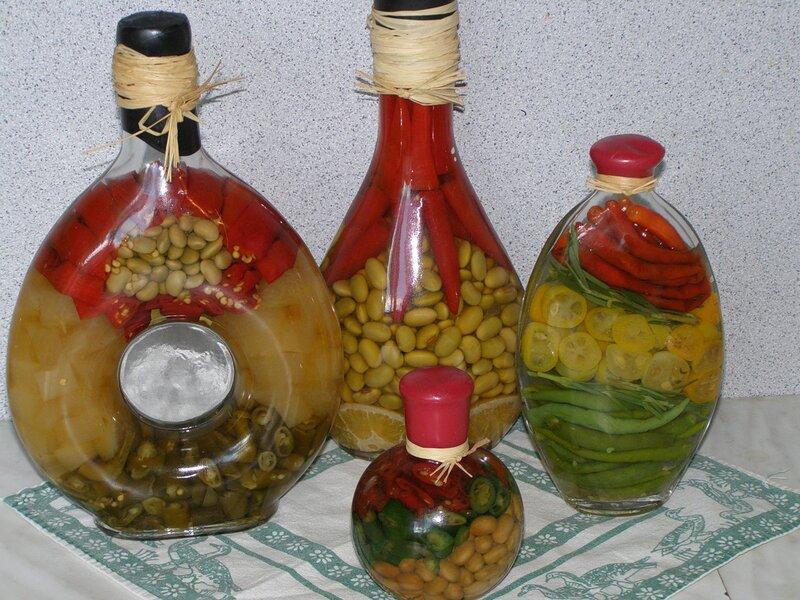 Декоративные бутылки для кухни своими руками мастер