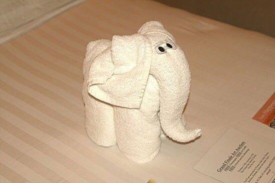 картинки про Очумелые ручки: Что можно сделать из обычного полотенца?
