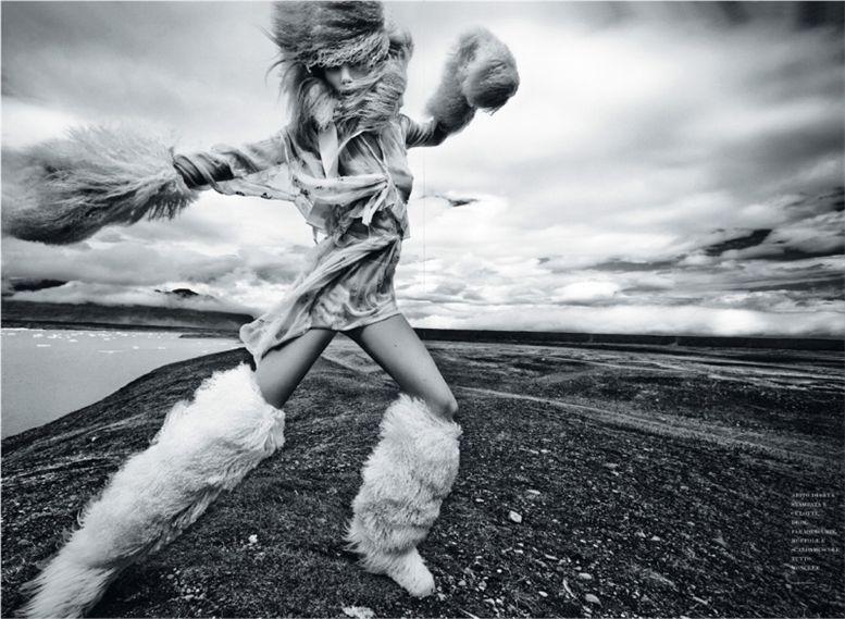 модель Бреджи Хейнен / Bregje Heinen, фотограф Jean-Francois Campos