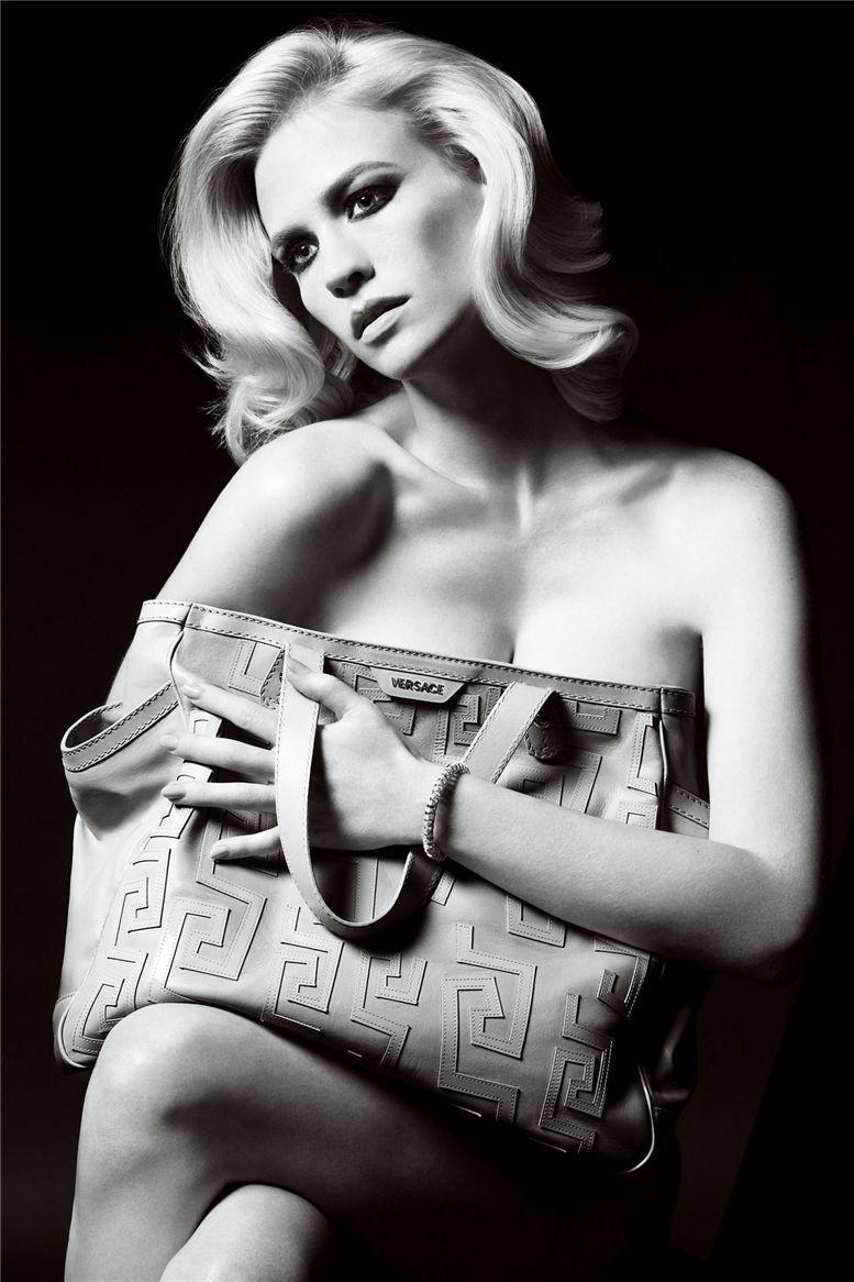 модель Джэнуари Джонс / January Jones, фотограф Mario Testino