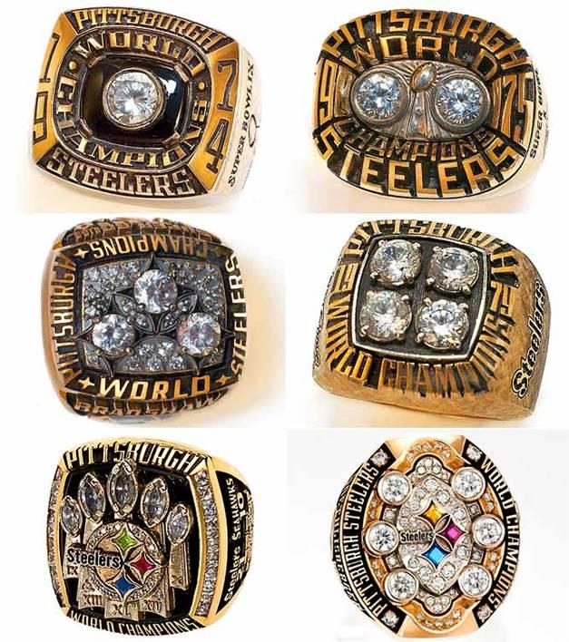 Чемпионские перстни / Champions Rings - Pittsburgh Steelers