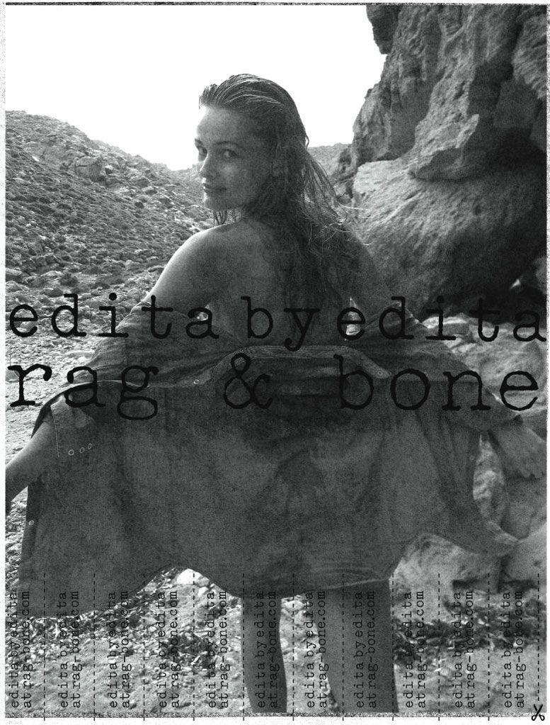 Эдита Вилькевичуте / Edita Vilkeviciute for Rag and Bone spring 2011