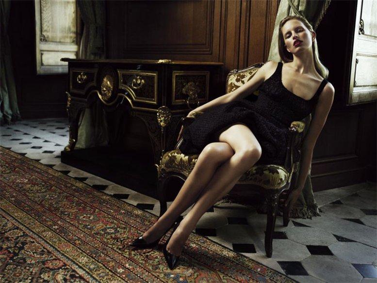 модель Каролина Куркова / Karolina Kurkova, фотограф Willy Vanderperre