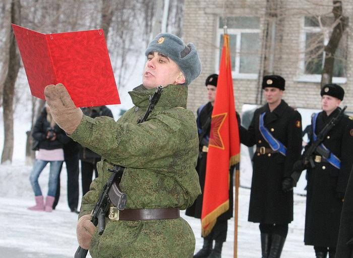 В бригаде морской пехоты ТОФ «черные береты» приняли в свои ряды новобранцев
