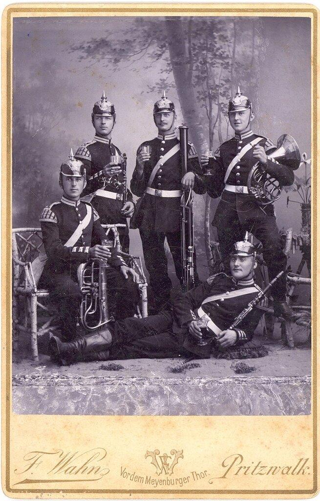 Прусской военный оркестр 1895-1897
