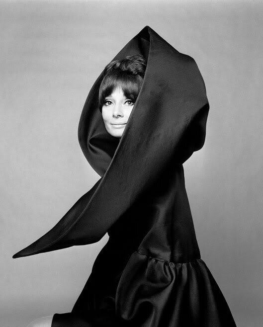 Audrey Hepburn for valentino vogue
