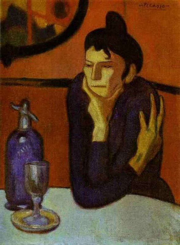 The Absinthe Drinker (Picasso)