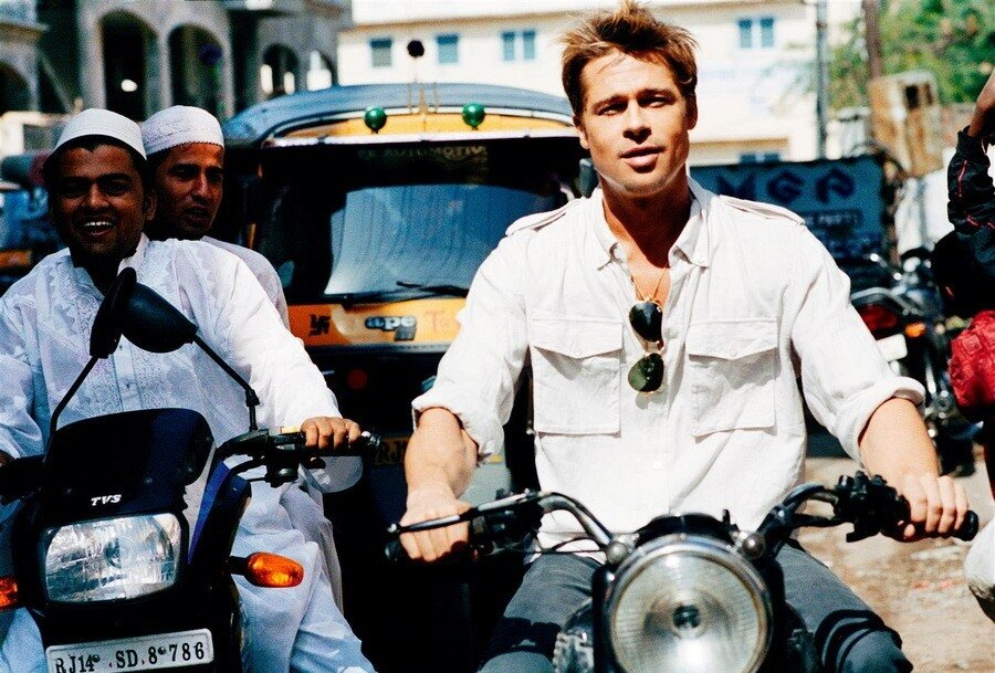 Brad Pitt для 'Interview' .Фотограф Ellen von Unwerth