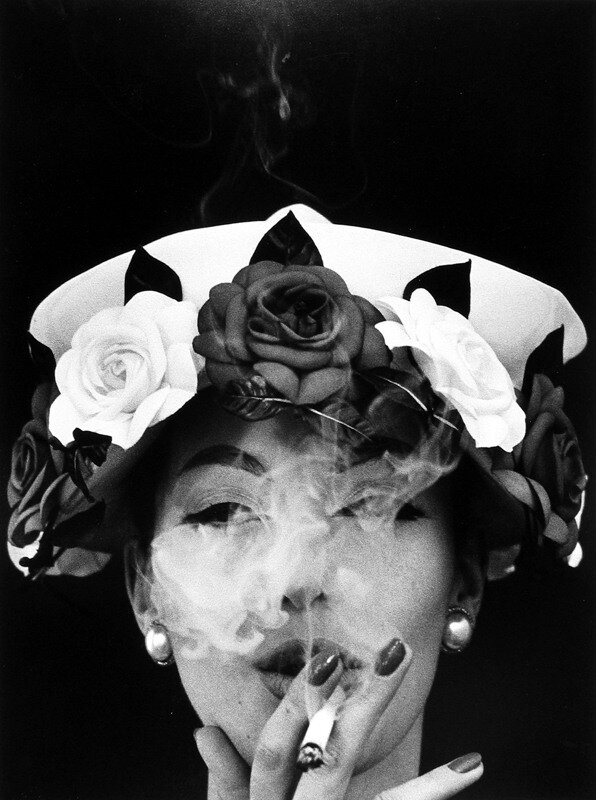 William Klein  5 Roses ( Vogue), Paris