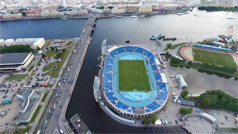 очередной стадион зенит питер петровский фото называют