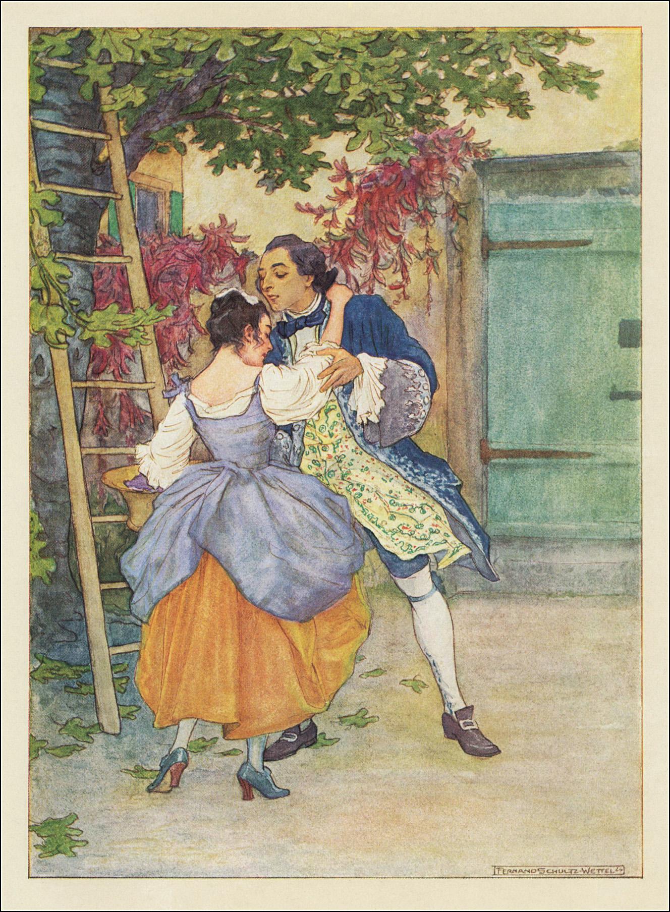 Fernand Schulz Wettel, Casanova