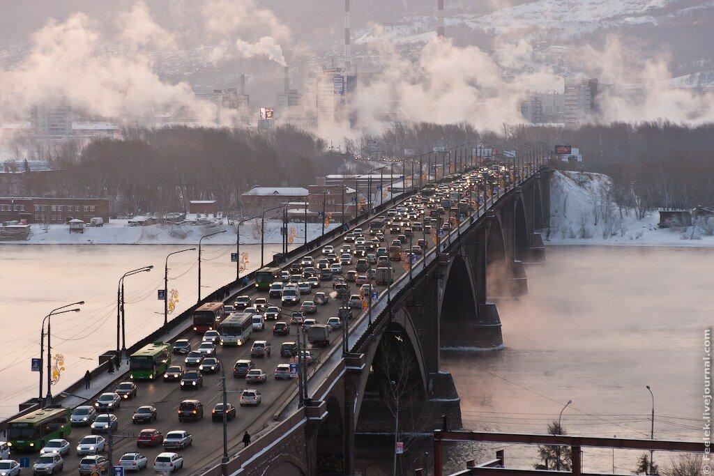 Красноярск без метро: в городе обсудят планировку улично-дорожной сети..