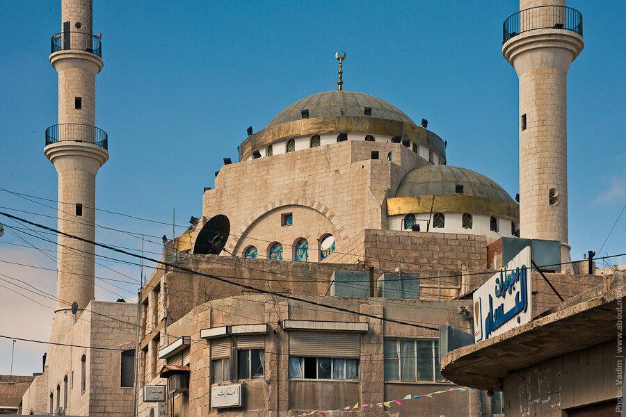 Мечеть в Мадабе / Madaba mosque