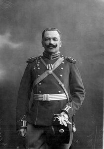 Штаб-ротмистр пограничной стражи (портрет).