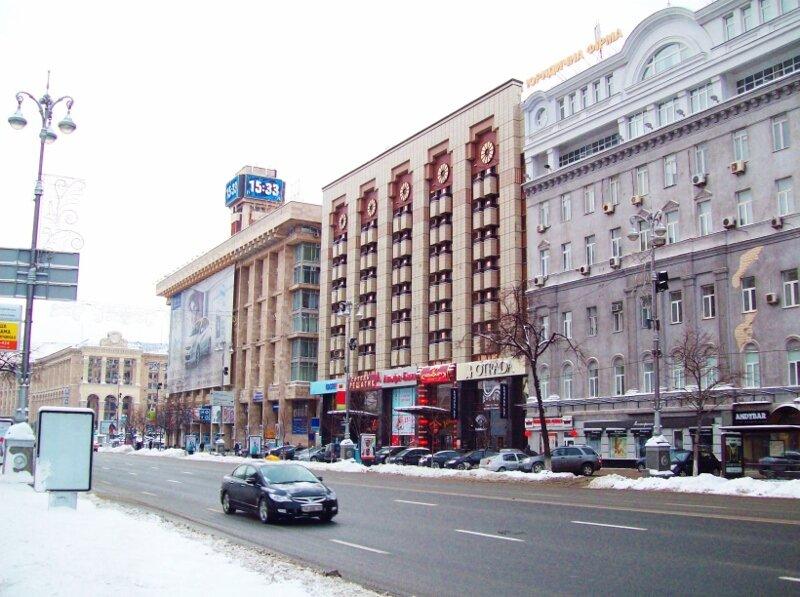 киев гостиница крещатик
