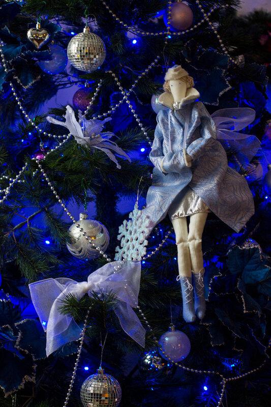 снегурочка тильда кукла