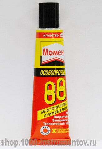 Клей МОМЕНТ 30 мл 88 особопрочный