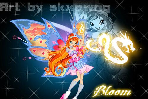 Винкс конкурс и игра создай имидж феи Блум!