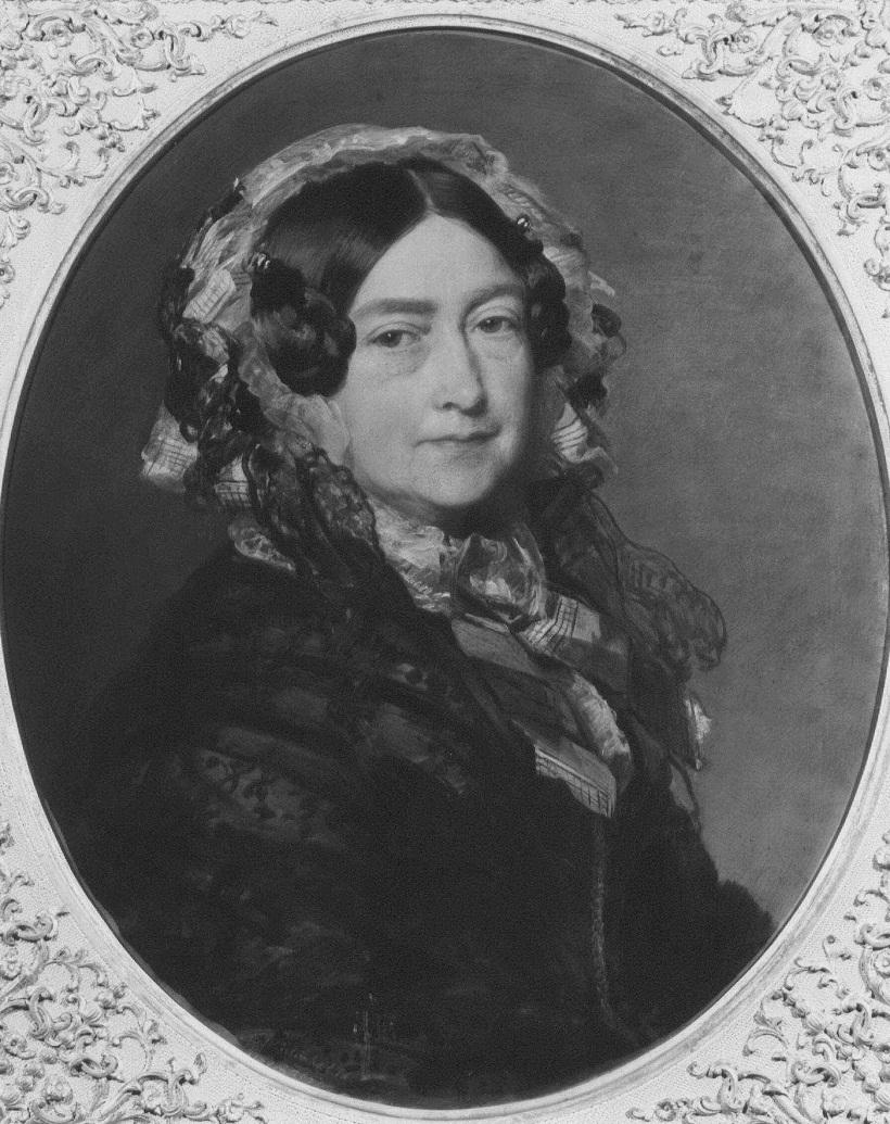 Виктория, герцогиня Кента (1786-1861)  Подпись и дата тысяче восемьсот пятьдесят семь