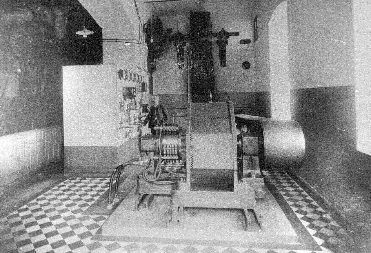 15. Внутренний вид электростанции