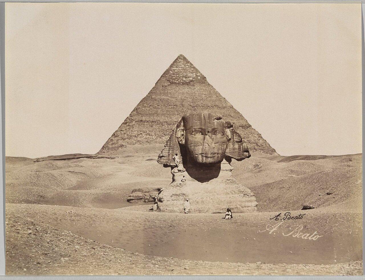 Гиза. Пирамида и Сфинкс