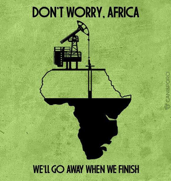 Африка, нефть