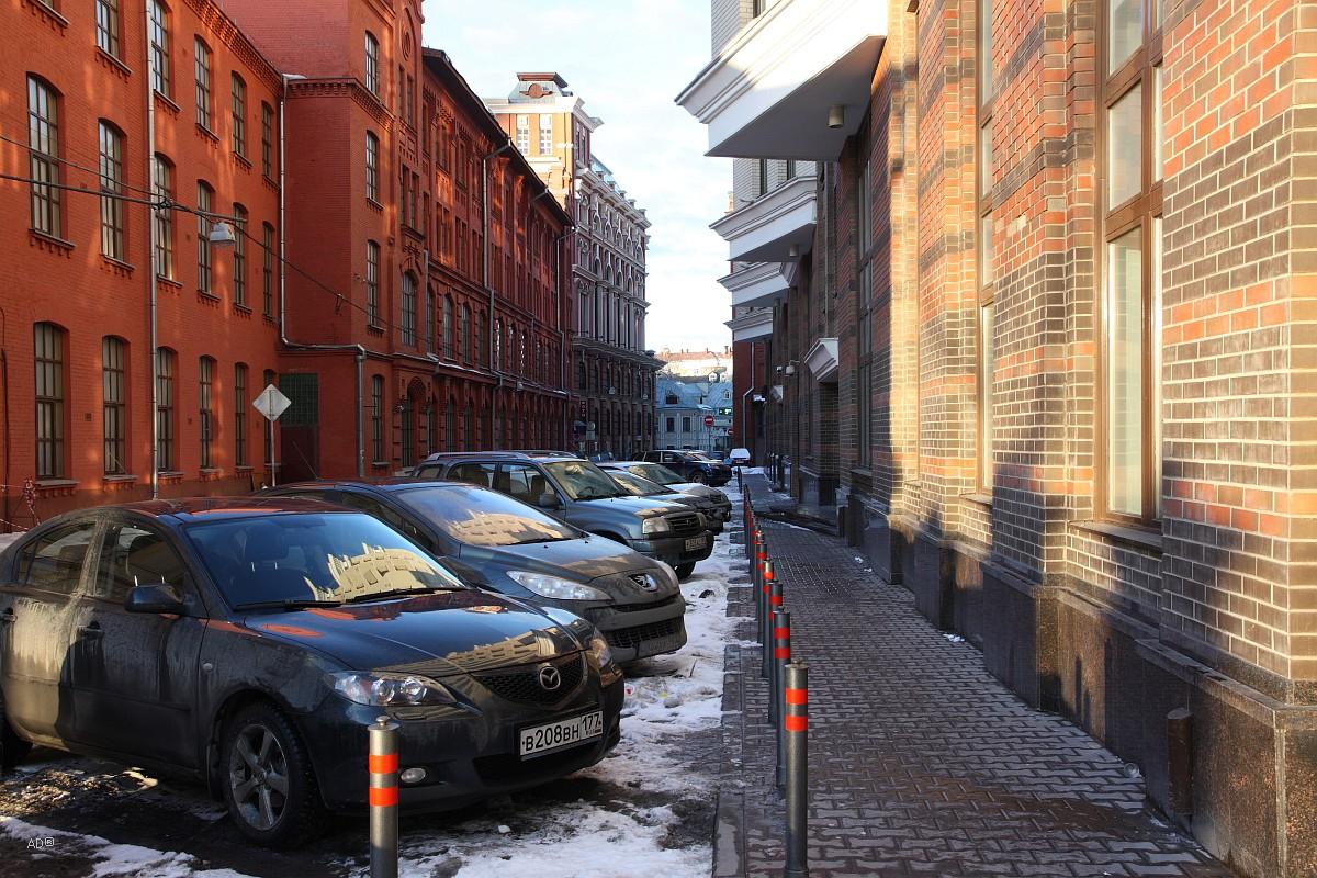 1-й Голутвинский переулок