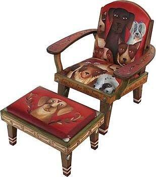 роспись на мебели