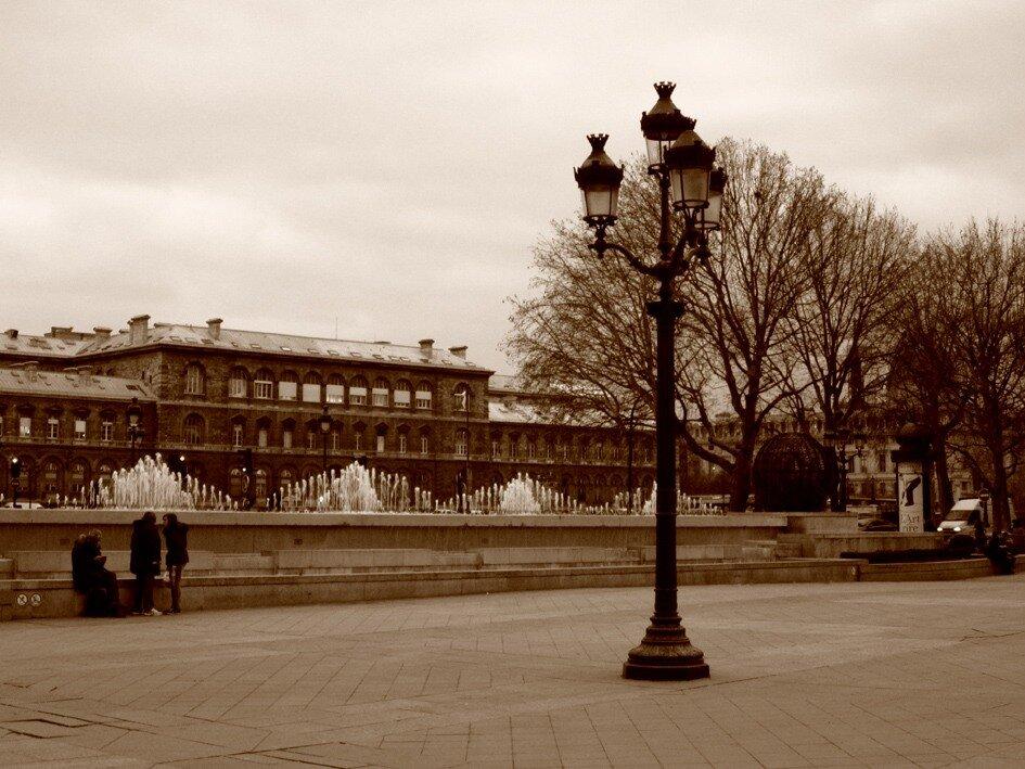 Париж.Фонтаны