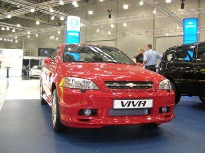 Начались продажи Chevrolet Viva Adrenalin.