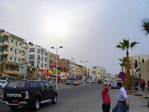 Хургада центральная улица