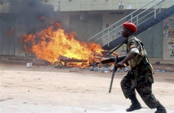 Uganda Political Violance