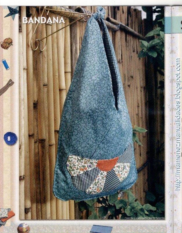 Пэчворк - Шьем сумочки, журнал с выкройками