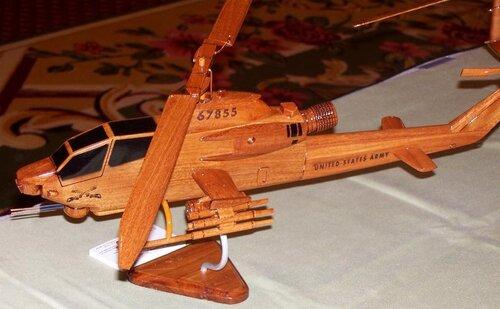 Вертолета из дерева своими руками