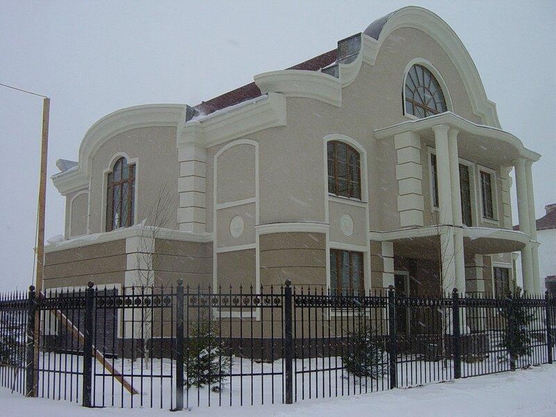 Утепление пенопластом фасадов, лепнина из пенопласта Ceresit, Ремонт и отделка - работы - Фасадные работы