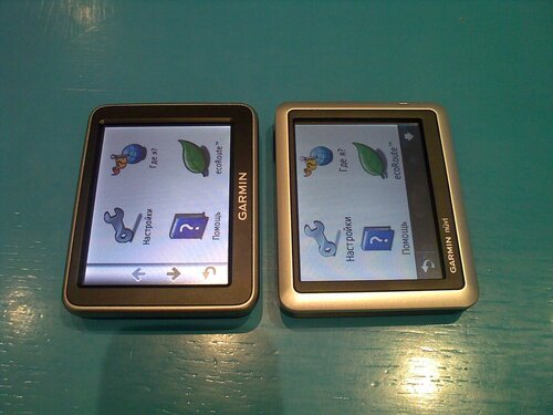 Сравнение GPS навигаторов Garmin Nuvi 2350 и Garmin Nuvi 1350